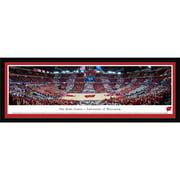 Blakeway Worldwide Panoramas Blakeway Panoramas Wisconsin Basketball Framed Print