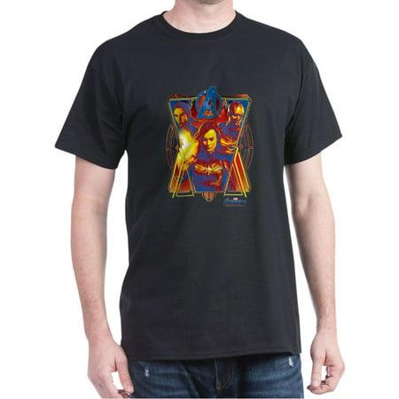 CafePress - Women Of Avengers Endgame Dark T Shirt - 100% Cotton T-Shirt - The Avengers Women