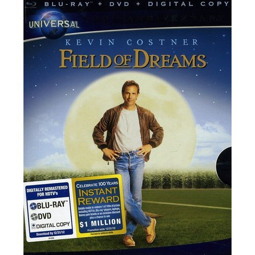 Field Of Dreams (Universal 100th Anniversary Collector's Series) (Blu-ray + DVD + Digital Copy) (With INSTAWATCH) (Widescreen)