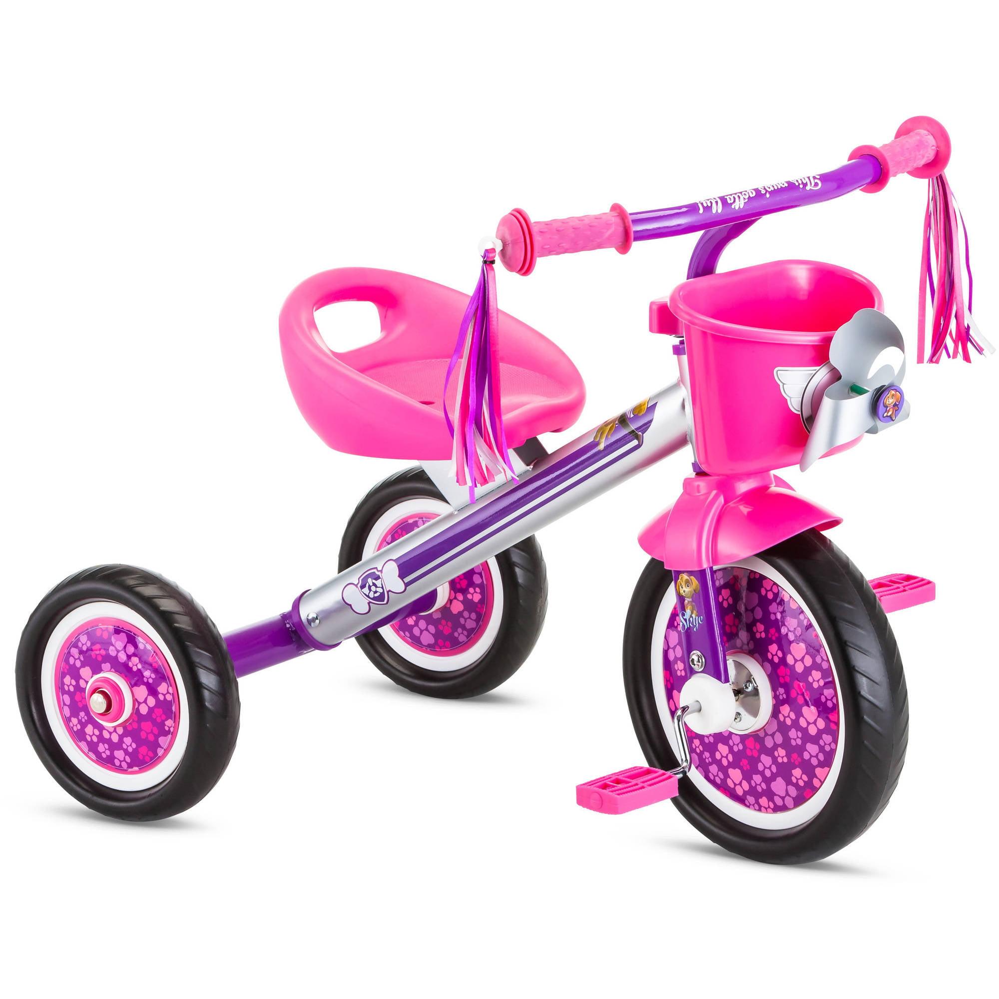 Paw Patrol Skye Tricycle for Kids, Tassels, Pink