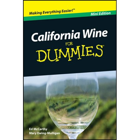 Port California Wine (California Wine For Dummies, Mini Edition - eBook )