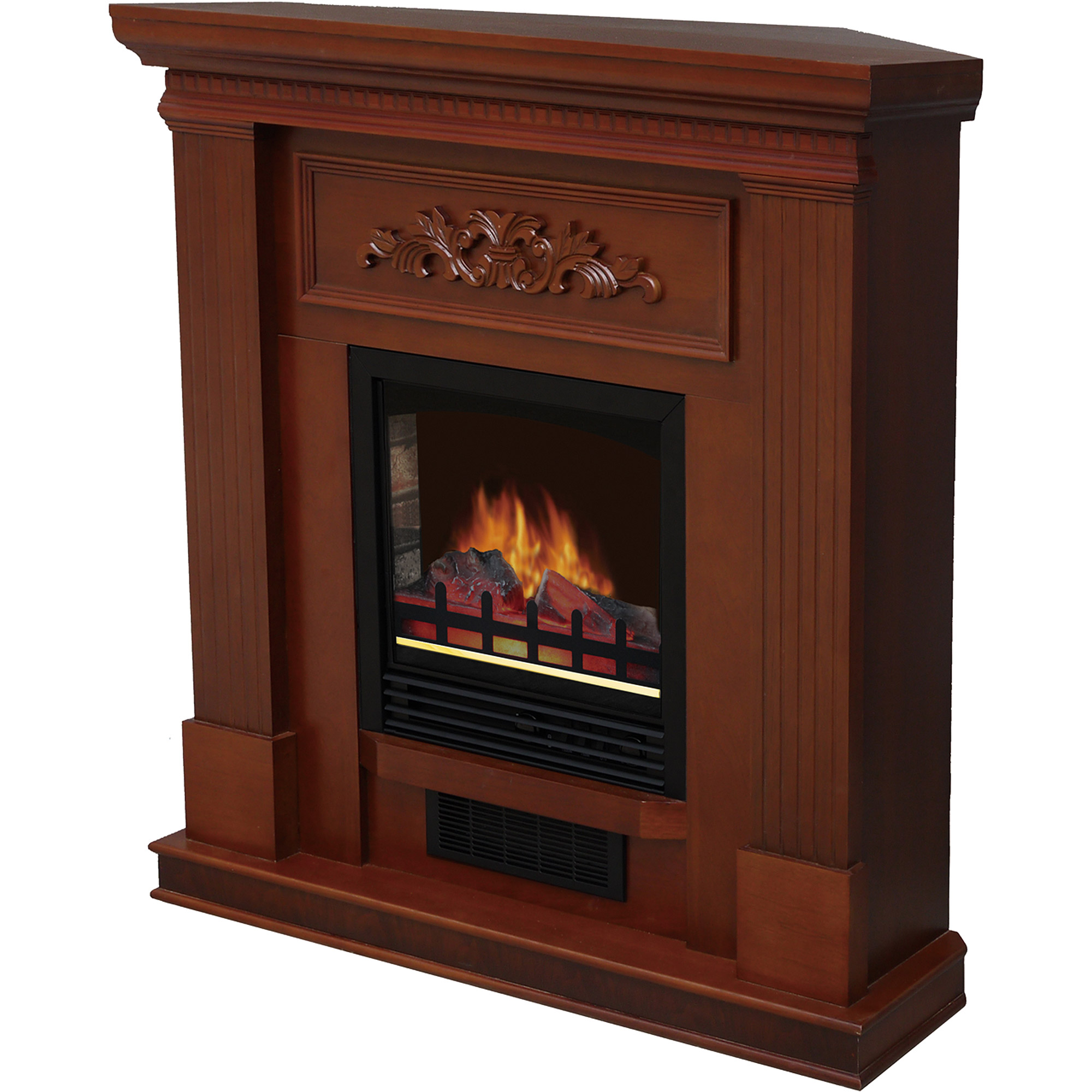 "Shop for Electric Fireplaces in Fireplaces. Buy products such as Decor-Flame Electric Space Heater Fireplace with 28"" Mantle"