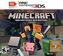 Minecraft New Nintendo 3DS Editions,  Nintendo 3DS (Pre-Owned)