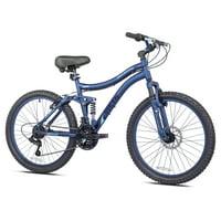 Deals on Genesis 24-in Bella Vista Girls Full Suspension Mountain Bike