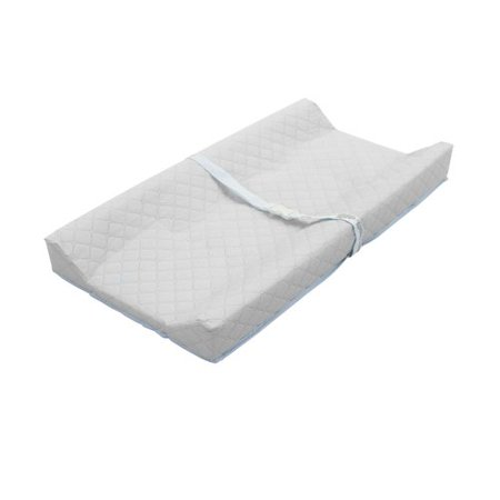 La Baby 32   Contour Changing Pad With White Terry Cover