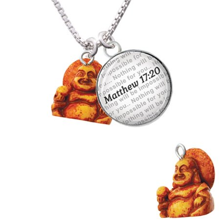 Resin laughing buddha bible verse matthew 1720 glass dome resin laughing buddha bible verse matthew 1720 glass dome necklace aloadofball Image collections