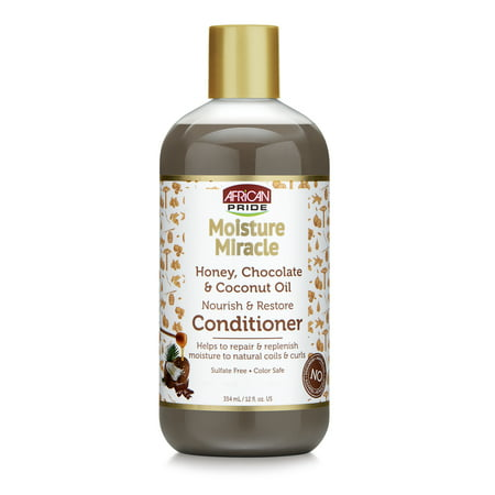 African Pride Hair Care - African Pride Moisture Miracle Conditioner Nourish & Restore , 12 Oz