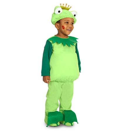 Frog Prince Toddler Costume - Toddler Frog Prince Halloween Costume