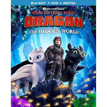How to Train Your Dragon: The Hidden World (Blu-ray + DVD + Digital Copy) - James The Train