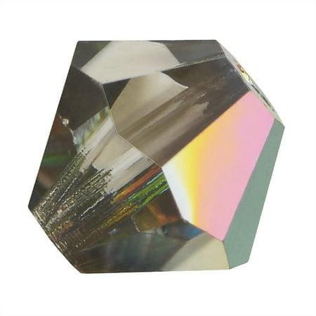 Preciosa Czech Crystal Bicones Glass Beads 4mm
