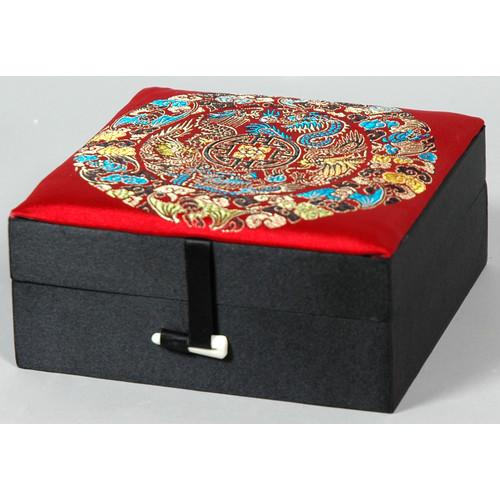 Oriental Furniture Silk Good Jewelry Box
