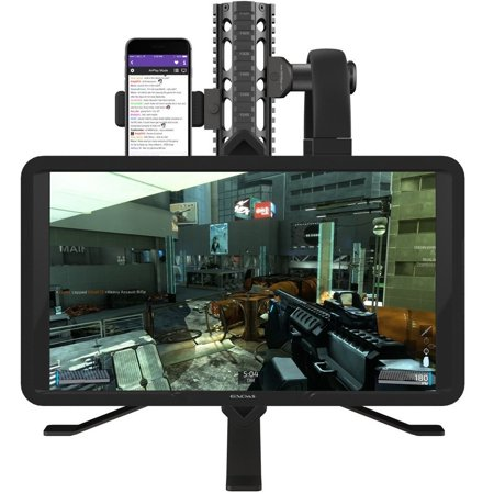 GAEMS Satellite Rail System Monitor Stand and Accessory Mount