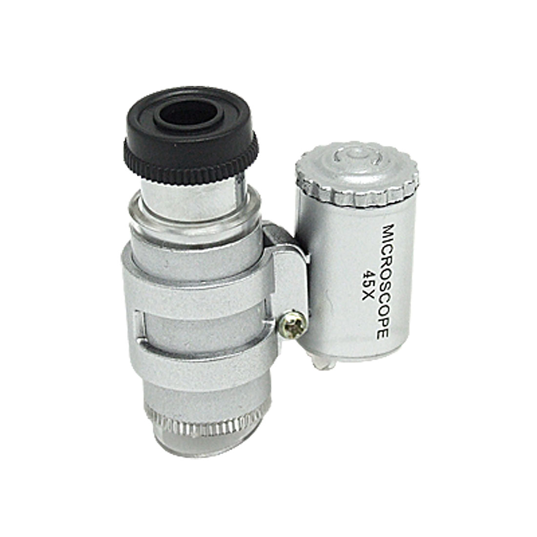 Unique Bargains Smallest Microscope Loupe Magnifying 45X  Light Zhvwe