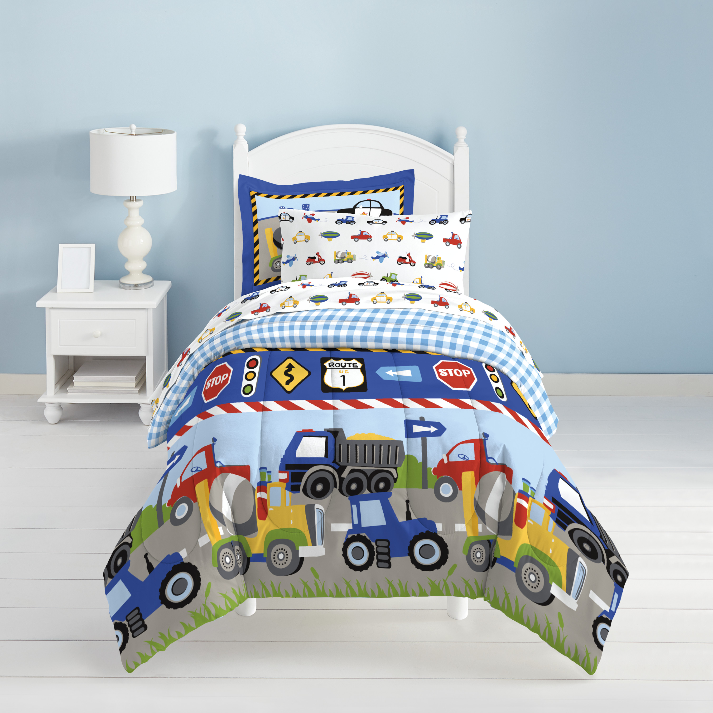 Agriculture Tractor Duvet Cover Set Bedding Set and Pillowcase Boys Teens Gift