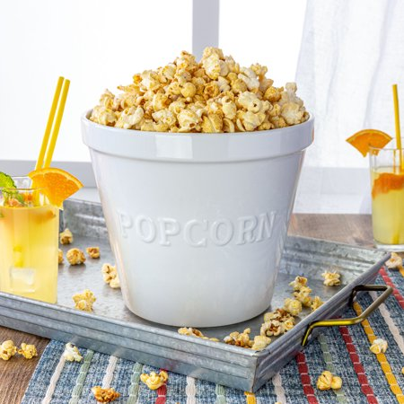 Ceramic Popcorn Bowl (Better Homes & Gardens Large Popcorn)