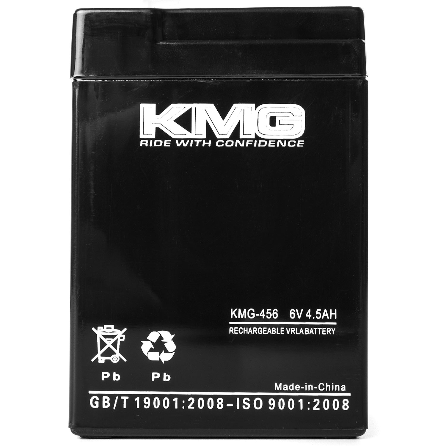 KMG 6 Volts 4.5Ah Replacement Battery for Eagle Pitcher CFM6V4.6 - image 1 of 3