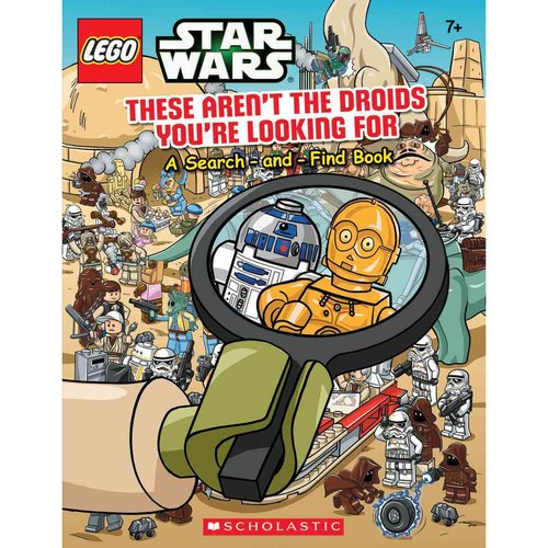 These Aren't the Droids You're Looking For: A Search-and-Find Book