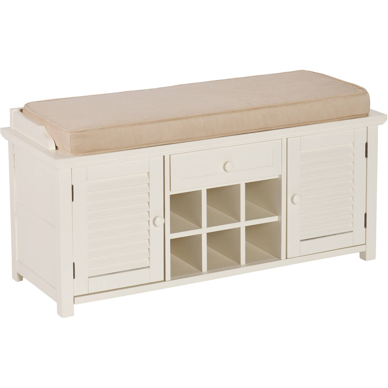 White Bench With Shoe Storage Home Design Ideas And Pictures