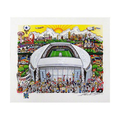 NFL - Dallas Cowboys Autographed Pop Art