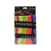 Prism Floss Pack Six Strand Neon 24pc