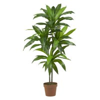 Nearly Natural 43in. Dracaena Silk Artificial Plant, Real Touch, Green
