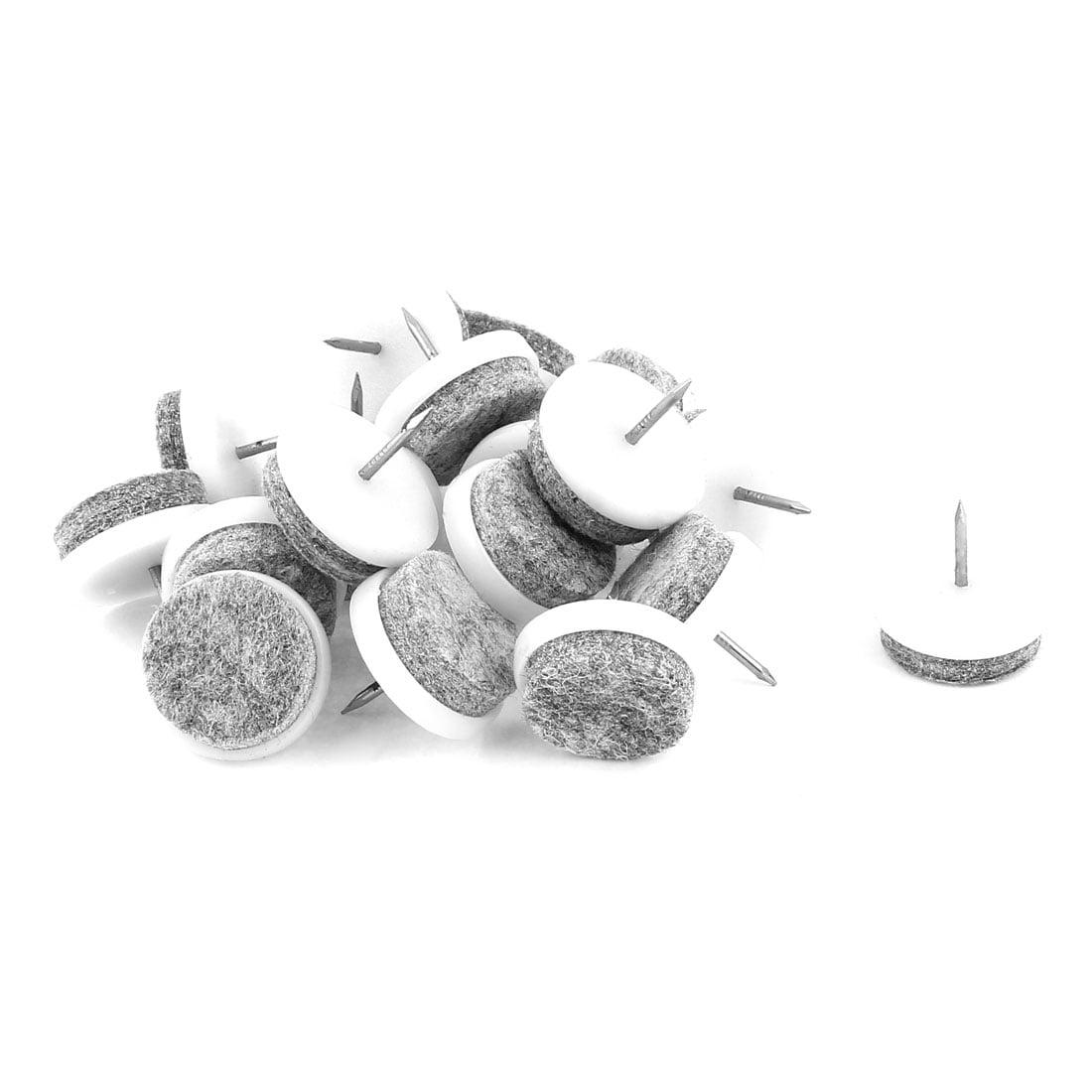 De Chaise recouverte de feutre d'Glide Ongle DIY Lot de 20 à 24 mm de diamètre - image 2 de 2