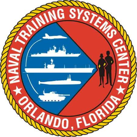 3.8 Inch Naval Education & Training Center Vinyl Transfer