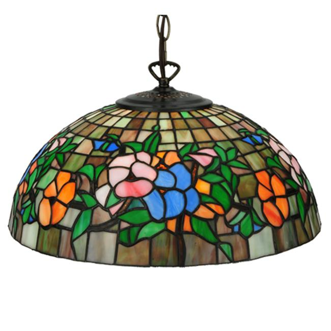 MEYDA 31105 15. 75 inch W Hanging Pansy Pendant