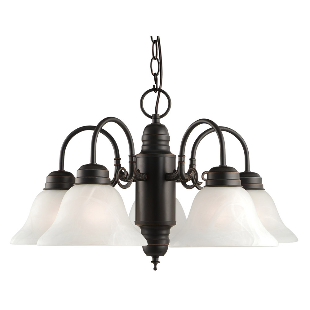 Design House 514455 Millbridge 5-Light Chandelier, Oil Rubbed Bronze by Design House