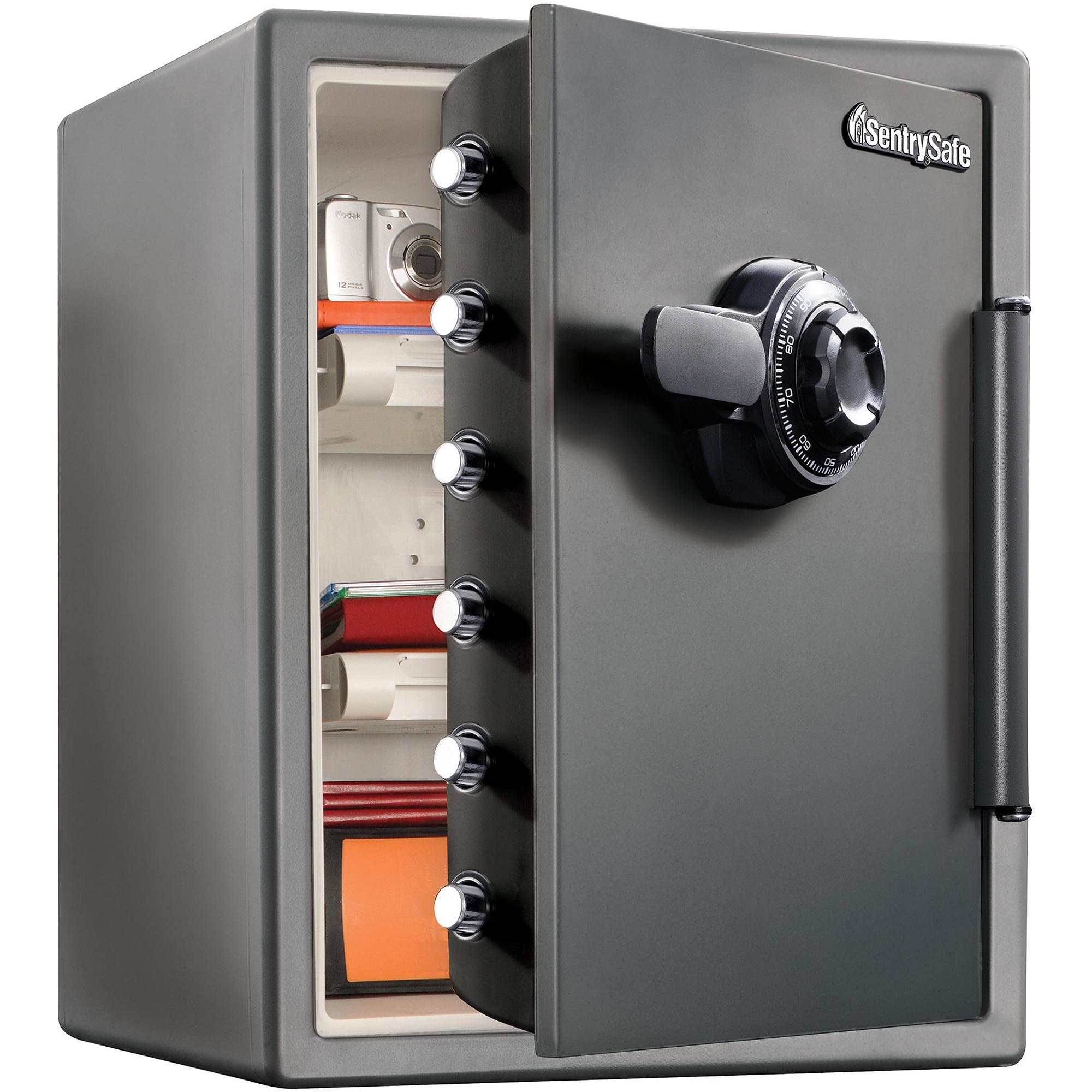 sentrysafe  cu ft xxlarge combination safe sfcv  walmartcom - xxlarge combination safe sfcv  walmartcom