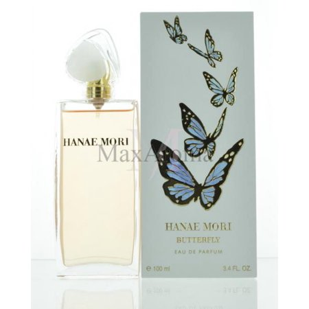 Hanae Mori Blue Butterfly for Women 3.4 oz EDP