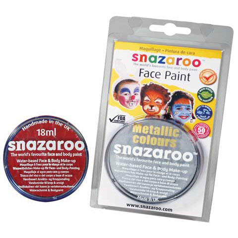 Snazaroo Classic Face Paint, 18ml, Lime Green