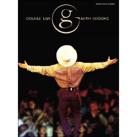 Garth Brooks -- Double Live: Piano/Vocal/Chords - Walmart.com
