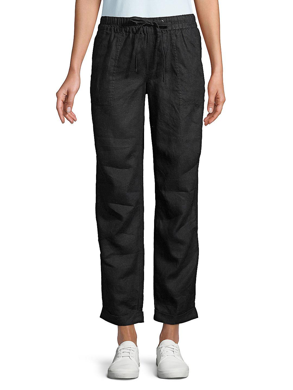 Petite Jaden Linen Pants