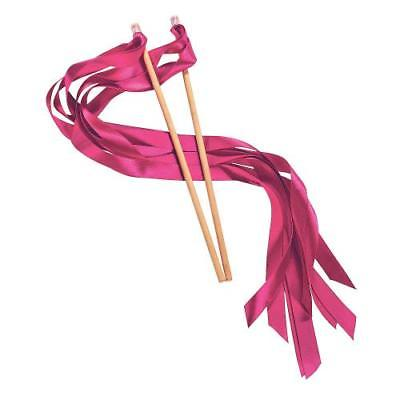 IN-14/1792 Hot Pink Ribbon Wands 24 Piece(s)