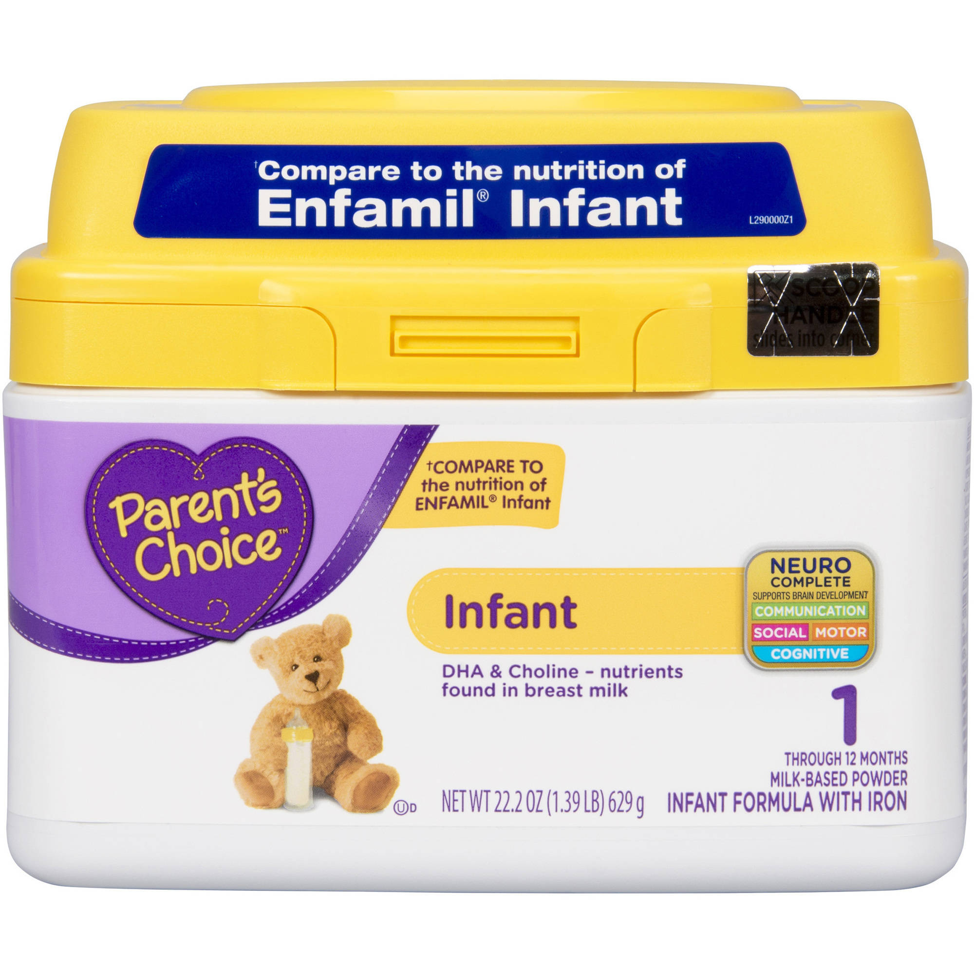 Parent's Choice Infant Powder Formula with Iron, 22oz