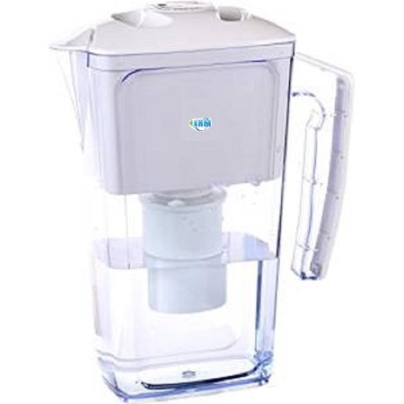 Ehm Alkaline Mineral Water Ionizer Pitcher 2 5L Pure Healthy Water In Minutes Ehm  White