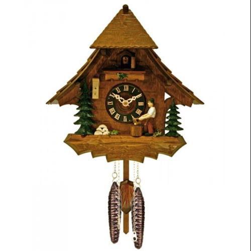 River City Clocks One Day Man Chops Wood Clock