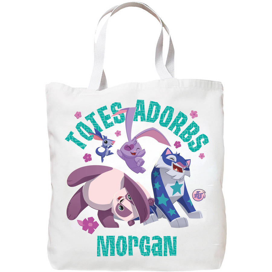 Personalized Animal Jam Totes-Adorbs Tote Bag