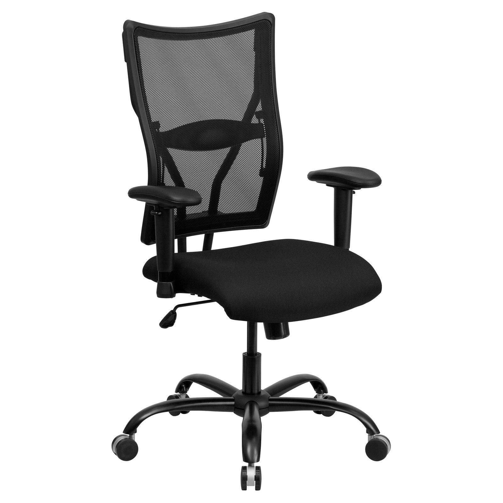 Good Flash Furniture Hercules Series Big And Tall Mesh Office Chair With Arms,  Black