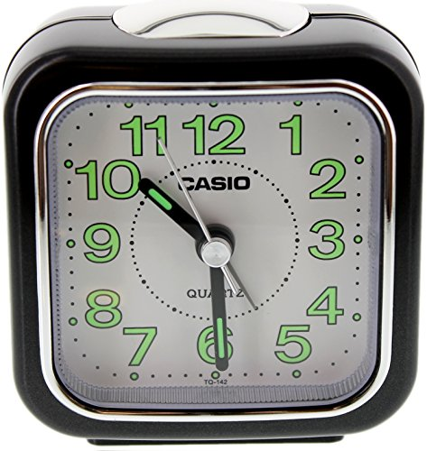 Casio #TQ142-1DF Table Top Travel with Light Alarm Clock by Casio