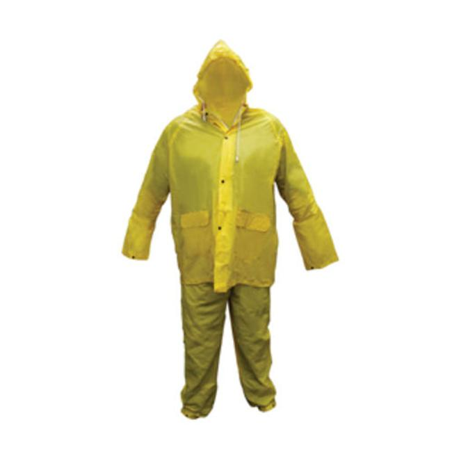 Sas Safety Corp SS6812 Medium Light Weight PVC Rain Suit by SAS Safety Corp