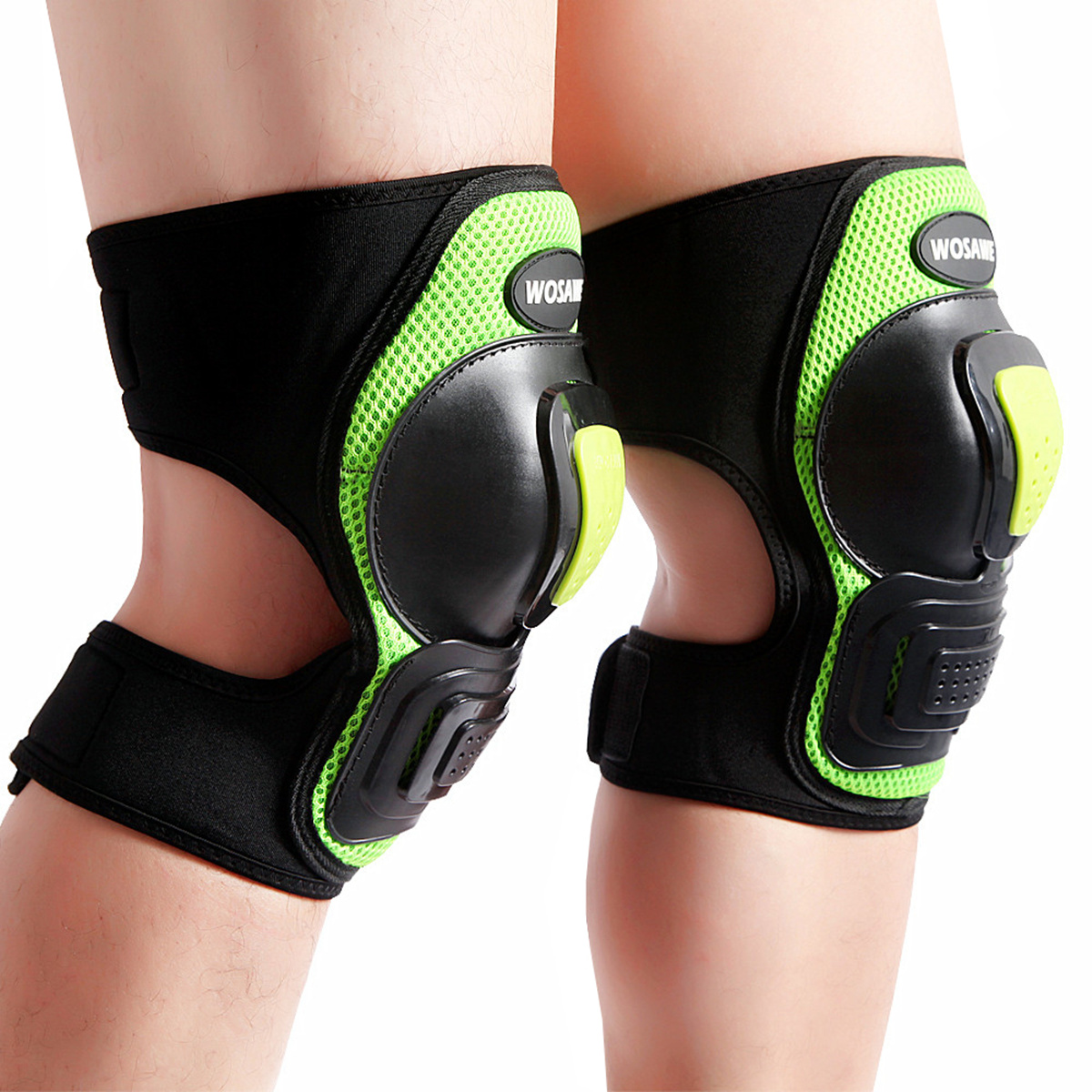 1 Pair Outdoor Sports Protective Gear Knee Pads Elbow Pads Wrist Guards Roller Skating Safety Protection