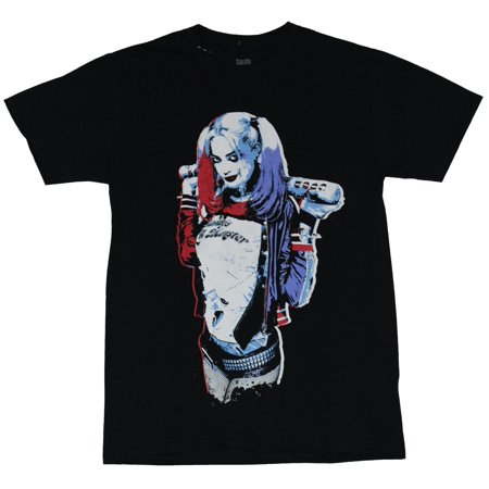 Harley Quinn Mens T-Shirt  - Suicide Squad Style Daddy's Little Monster