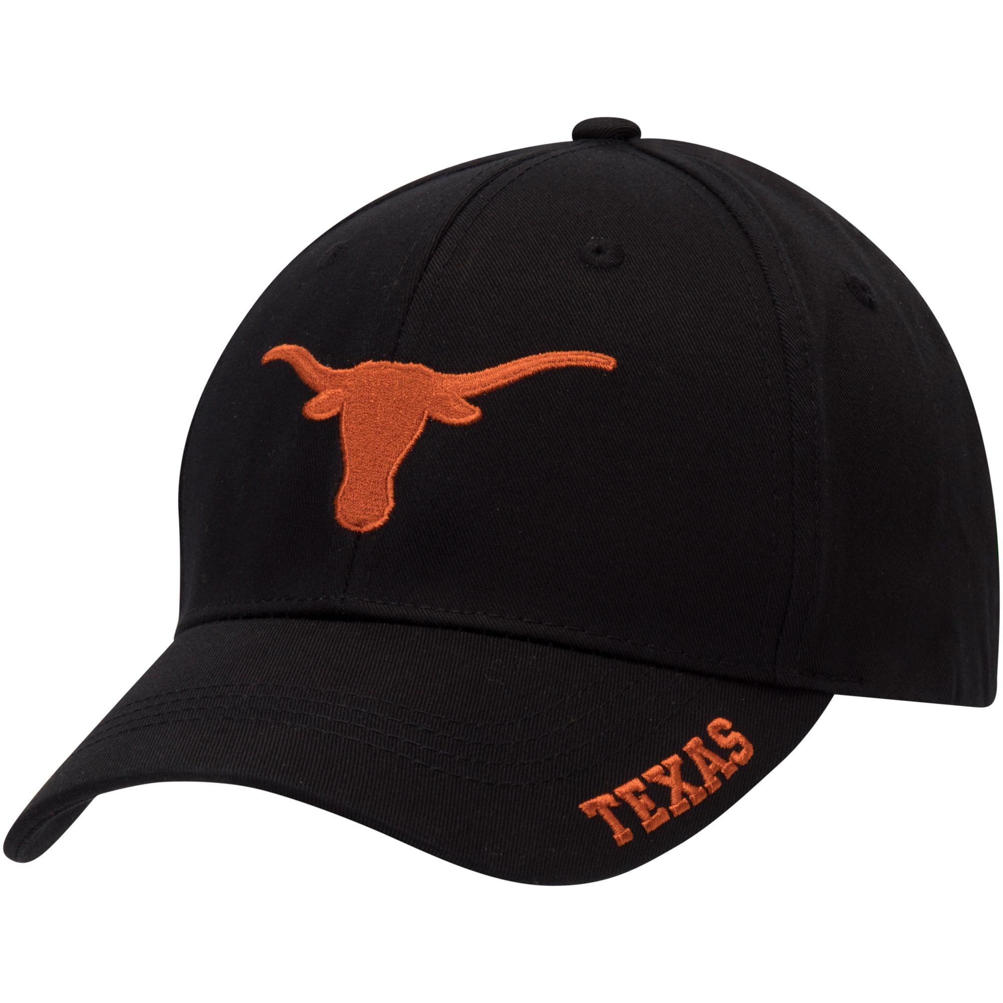 Men's Black Texas Longhorns Silhouette Adjustable Hat - OSFA