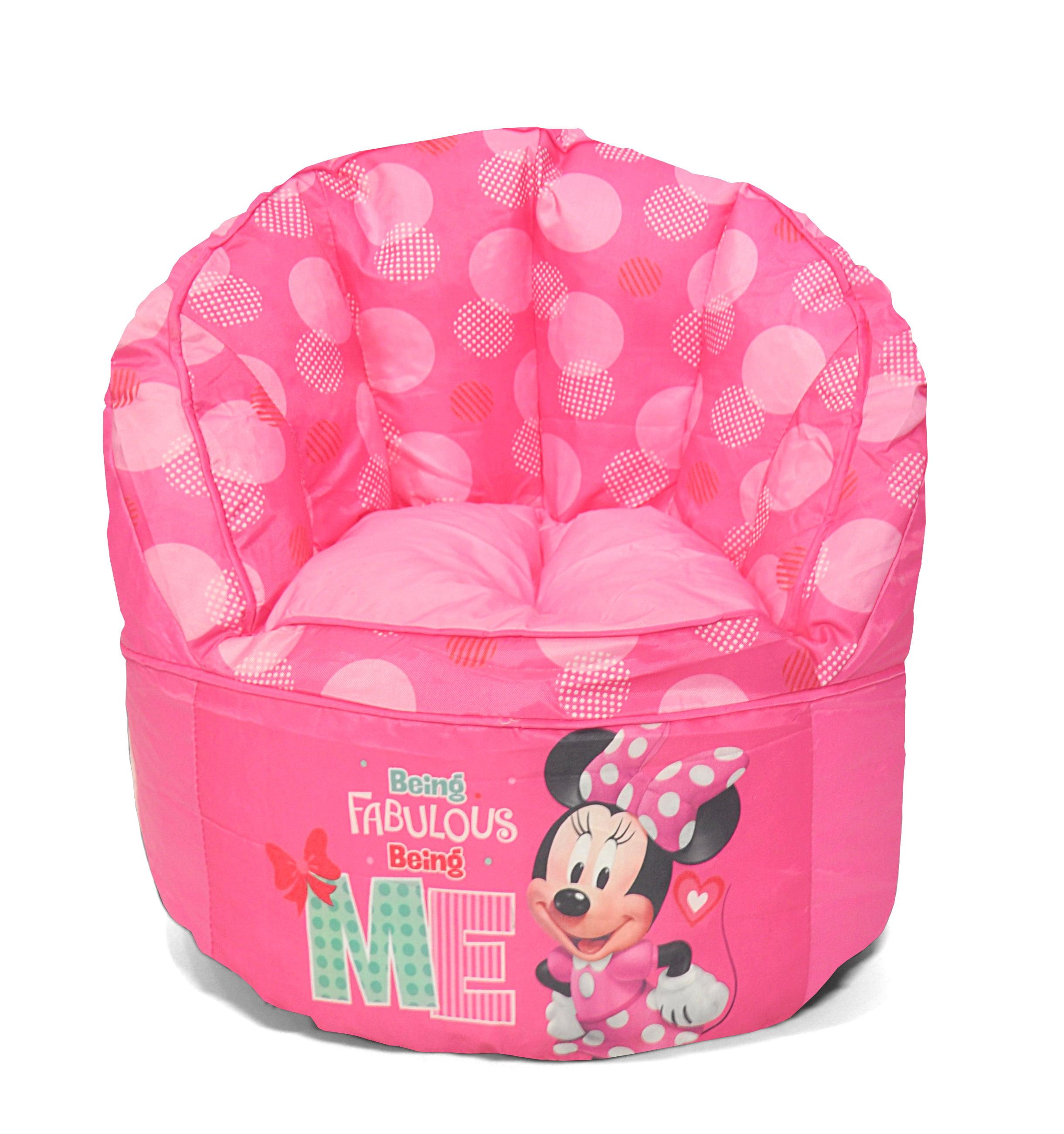 Disney Minnie Mouse Kids Bean Bag Chair 784857763621 Ebay