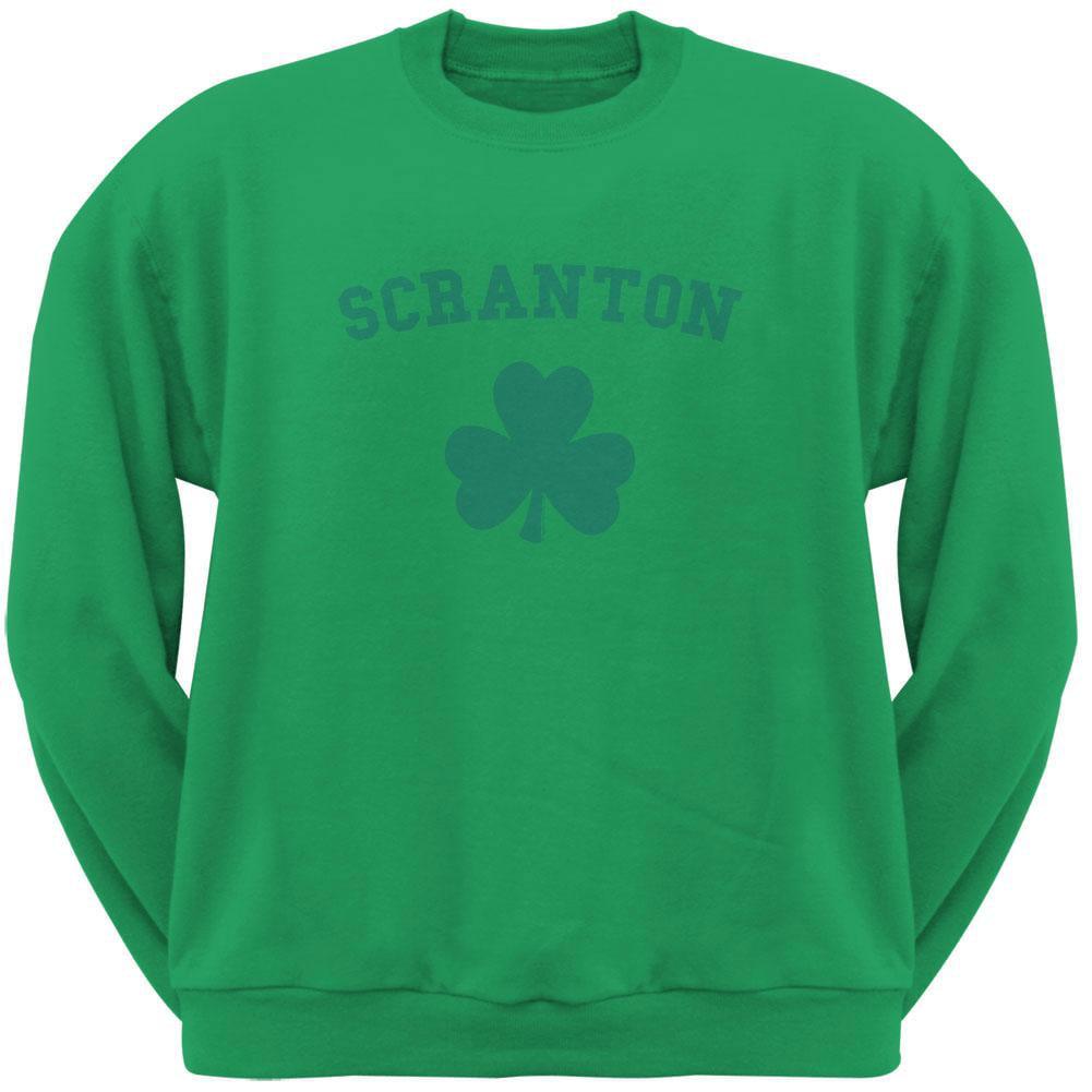 St. Patrick's Day - Scranton Shamrock Green Adult Sweatshirt