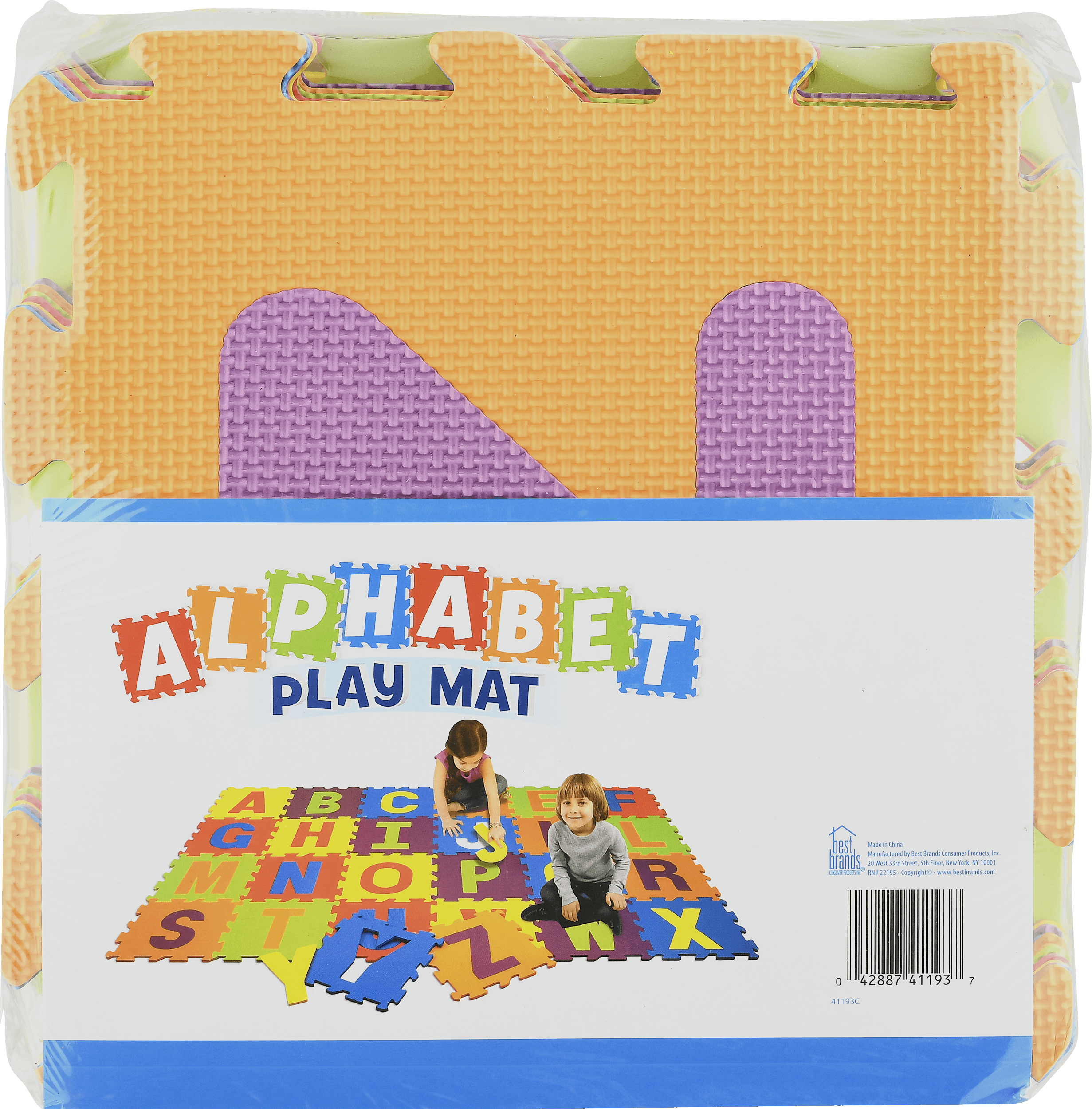 Alphabet 4u0027 X 4u0027 Activity Play Mat Image ...