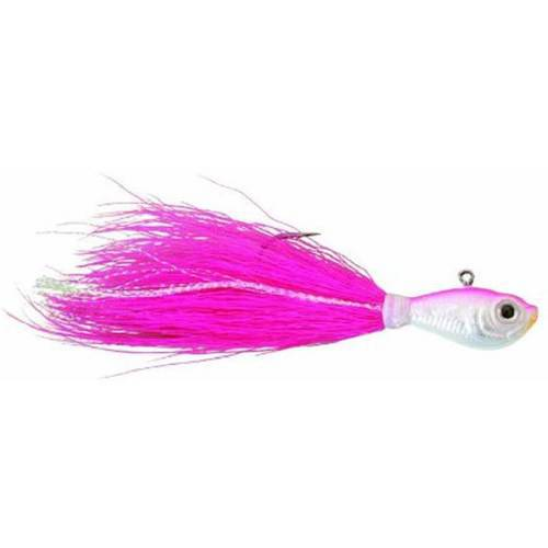 SPRO Fishing Bucktail Jig, Pink, 1 Pack by Generic