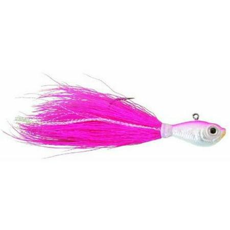 Pink Jig - SPRO Fishing Bucktail Jig, Pink, 1 Pack